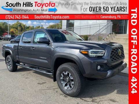 Magnetic Gray Metallic 2020 Toyota Tacoma TRD Off Road Double Cab 4x4