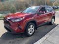Toyota RAV4 XLE AWD Ruby Flare Pearl photo #31