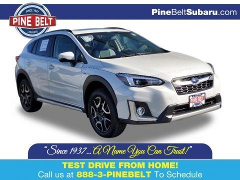 Crystal White Pearl 2020 Subaru Crosstrek Hybrid