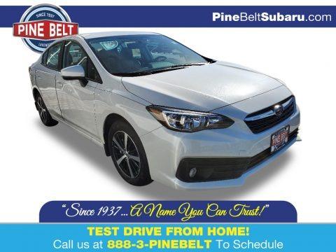 Crystal White Pearl 2020 Subaru Impreza Premium Sedan