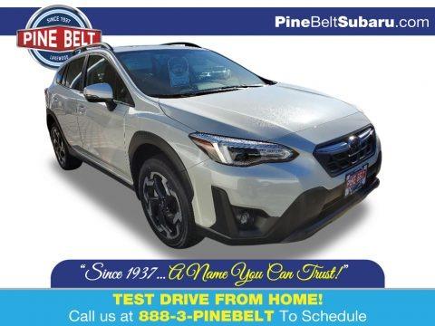 Crystal White Pearl 2021 Subaru Crosstrek Limited
