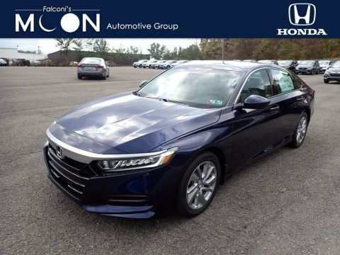 Obsidian Blue Pearl 2020 Honda Accord LX Sedan