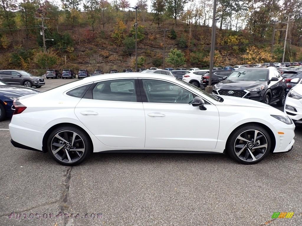 2021 Sonata SEL Plus - Hyper White / Black photo #1