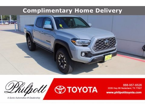 Cement 2021 Toyota Tacoma TRD Off Road Double Cab 4x4