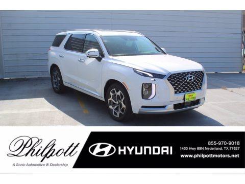 Hyper White 2021 Hyundai Palisade Calligraphy AWD