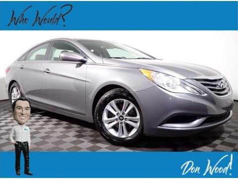 Harbor Gray Metallic 2011 Hyundai Sonata GLS