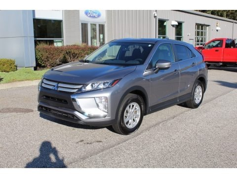 Mercury Gray Metallic 2019 Mitsubishi Eclipse Cross ES