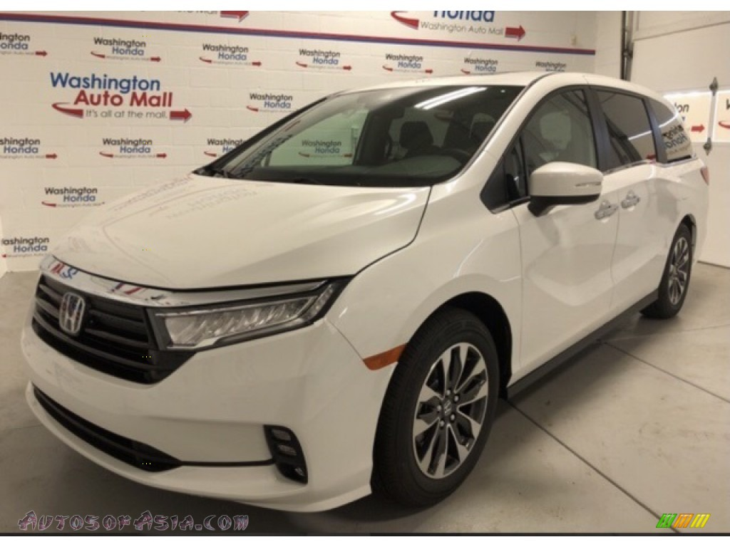 2021 Odyssey Touring - Platinum White Pearl / Beige photo #1