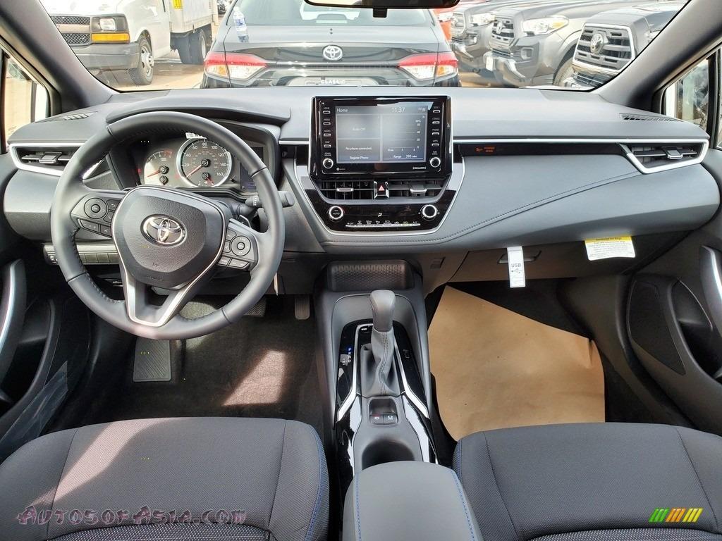 2021 Corolla SE - Blizzard White Pearl / Black photo #4