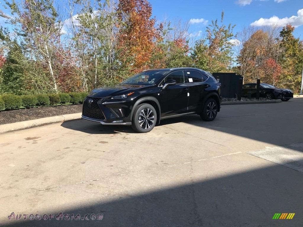 2021 NX 300 F Sport AWD - Obsidian / Rioja Red photo #1