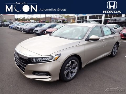 Champagne Frost Pearl 2020 Honda Accord EX Sedan