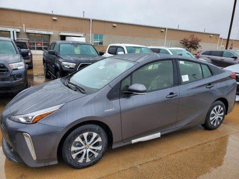 Magnetic Gray Metallic 2021 Toyota Prius LE