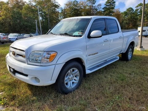 Natural White 2005 Toyota Tundra Limited Double Cab 4x4