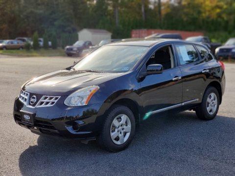 Super Black 2012 Nissan Rogue S AWD