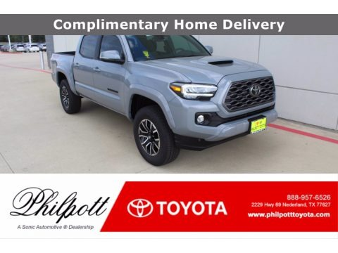 Cement 2021 Toyota Tacoma TRD Sport Double Cab 4x4