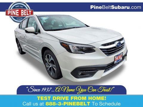 Crystal White Pearl 2021 Subaru Legacy Premium