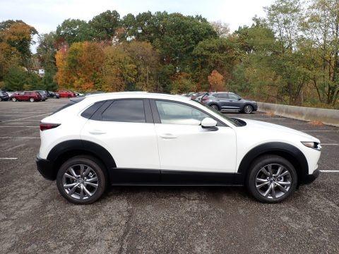 Snowflake White Pearl Mica 2021 Mazda CX-30 Preferred AWD