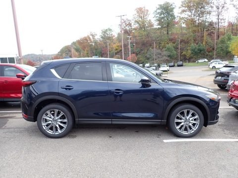 Deep Crystal Blue Mica 2021 Mazda CX-5 Grand Touring AWD