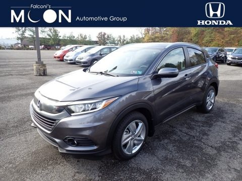 Modern Steel Metallic 2020 Honda HR-V EX AWD