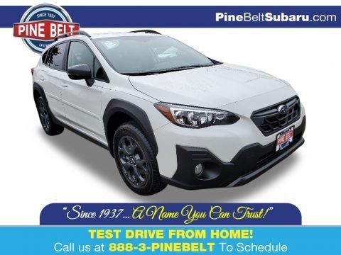 Crystal White Pearl 2021 Subaru Crosstrek Sport