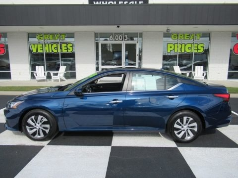 Storm Blue Metallic 2020 Nissan Altima S