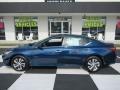 Nissan Altima S Storm Blue Metallic photo #1