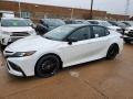 Toyota Camry XSE Hybrid Wind Chill Pearl photo #1