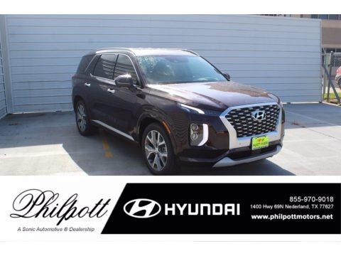 Sierra Burgundy 2021 Hyundai Palisade Limited