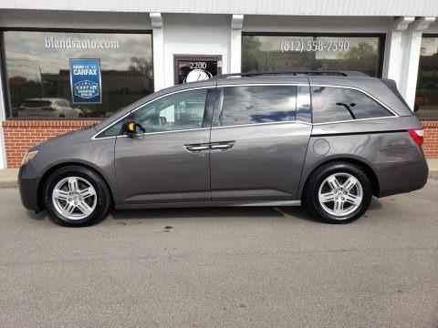 Polished Metal Metallic 2013 Honda Odyssey Touring Elite