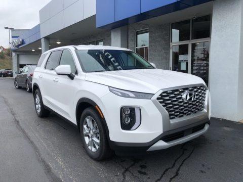 Hyper White 2021 Hyundai Palisade SE AWD