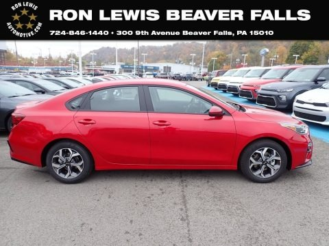 Currant Red 2021 Kia Forte LXS