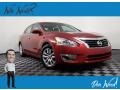 Nissan Altima 2.5 S Cayenne Red photo #1