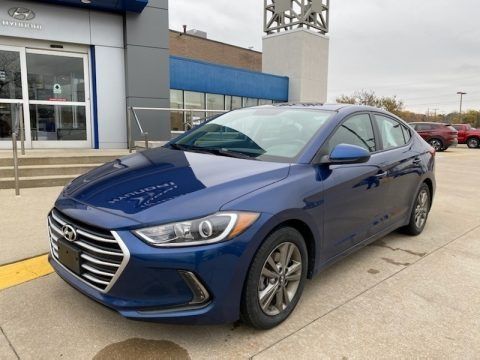 Lakeside Blue 2018 Hyundai Elantra Value Edition