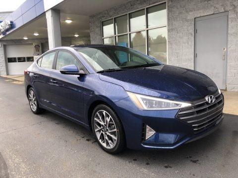 Lakeside Blue 2020 Hyundai Elantra Limited