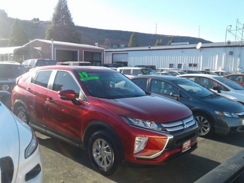 Red Diamond 2019 Mitsubishi Eclipse Cross ES