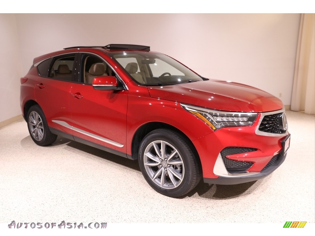 2020 RDX Technology AWD - Performance Red Pearl / Parchment photo #1