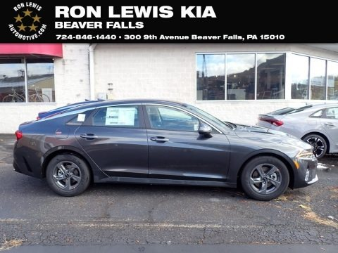 Gravity Gray 2021 Kia K5 LXS