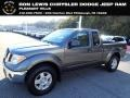 Nissan Frontier SE King Cab 4x4 Storm Gray photo #1