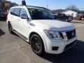 Nissan Armada Platinum 4x4 Pearl White Tricoat photo #8