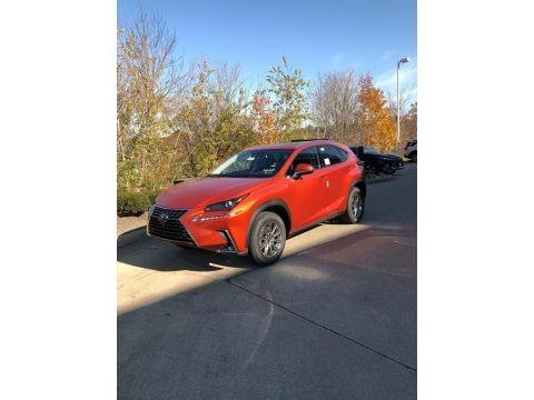 Cadmium Orange 2021 Lexus NX 300 AWD