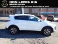 Kia Sportage LX Clear White photo #1