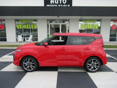 Inferno Red 2020 Kia Soul GT-Line