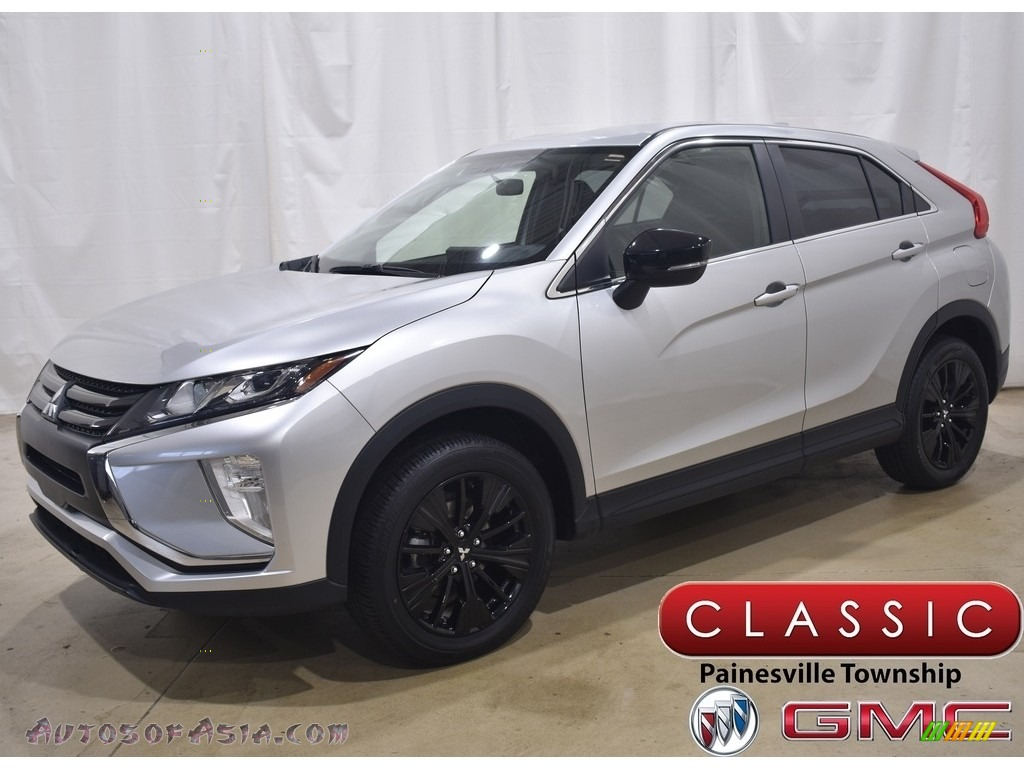2019 Eclipse Cross LE S-AWC - Alloy Silver Metallic / Black photo #1