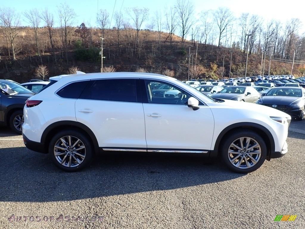 2021 CX-9 Grand Touring AWD - Snowflake White Pearl Mica / Black photo #1