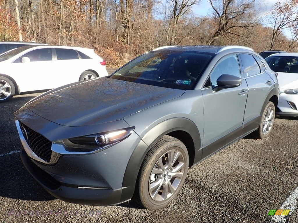 2020 CX-30 Premium AWD - Polymetal Gray Metallic / Black photo #1