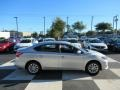 Nissan Sentra S Brilliant Silver Metallic photo #3