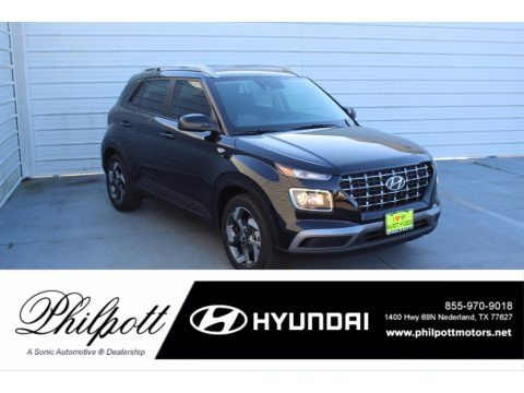 Black Noir Pearl 2021 Hyundai Venue SEL
