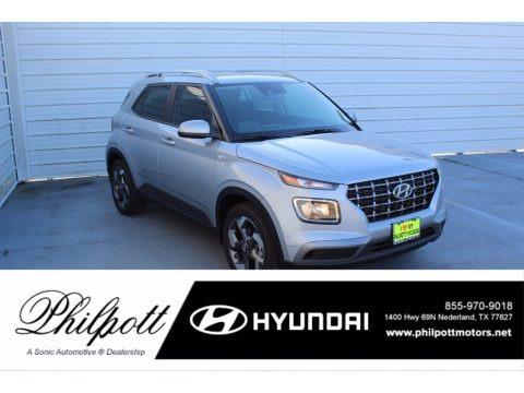Stellar Silver 2021 Hyundai Venue SEL