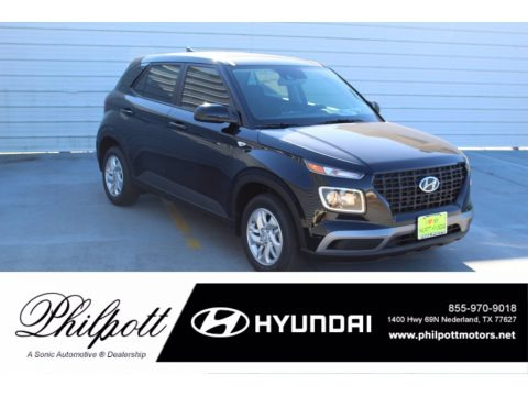 Black Noir Pearl 2021 Hyundai Venue SE