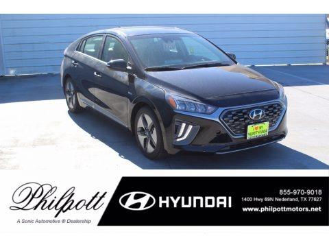 Black Noir Pearl 2020 Hyundai Ioniq Hybrid SEL
